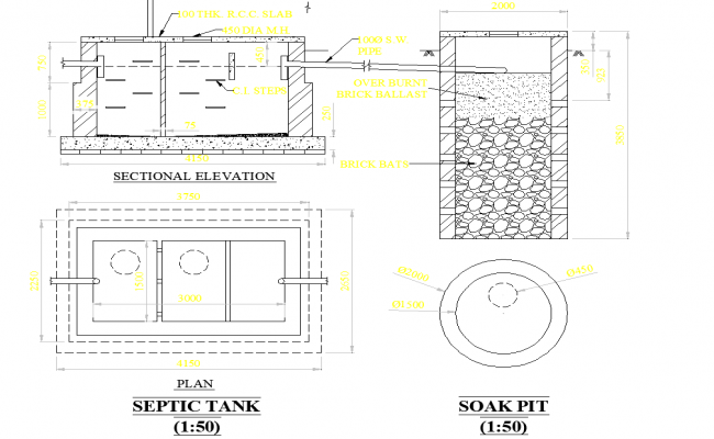 Septic System Design Drawings Download