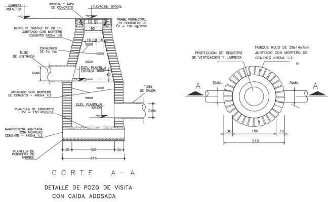 Sewage Chamber Design