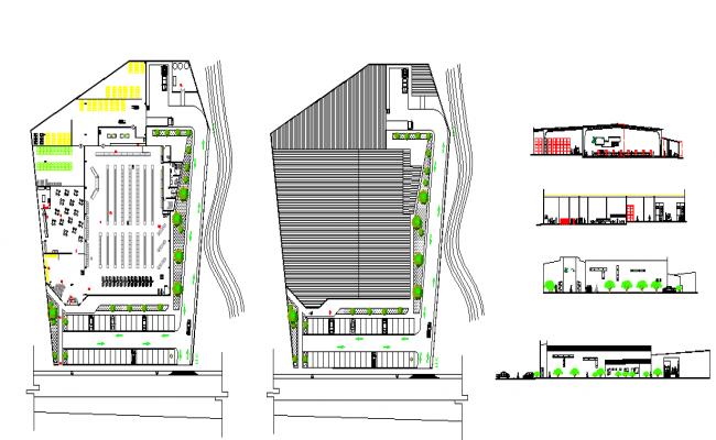 Shopping Mall Complex Design
