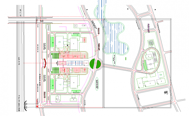Shopping mall conceptual architecture layout floor plan