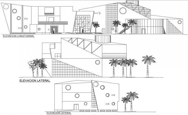 Show Center Building Elevation Design