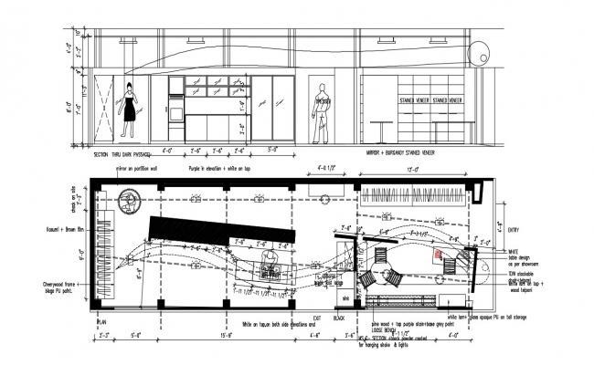 Showroom Plan Layout