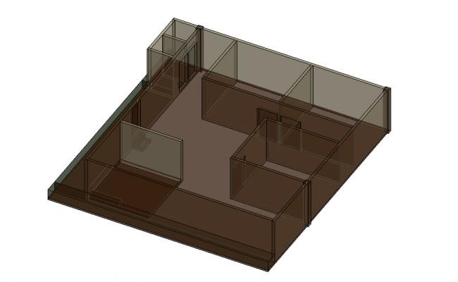Simple 3D House Design