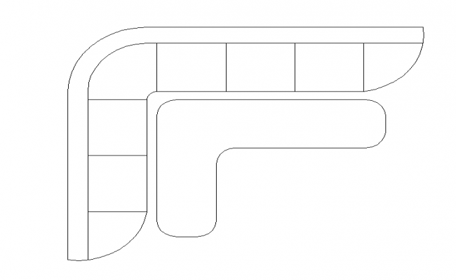 Simple Sofa Top view Design : Simple Sofa Top view Design Mon Mar 2017 05 42 20 from cadbull.com size 650 x 400 png 83kB