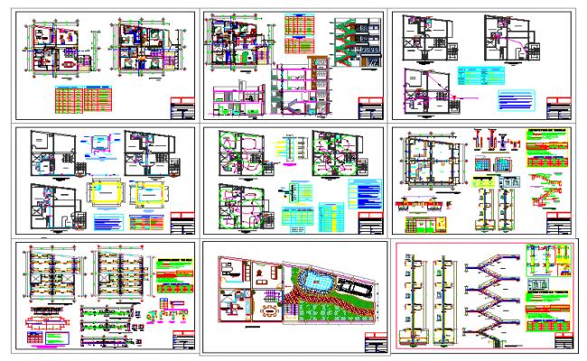Single Family House design plan