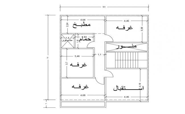 Single Story House Design Plan