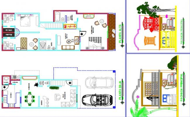 Single family house project