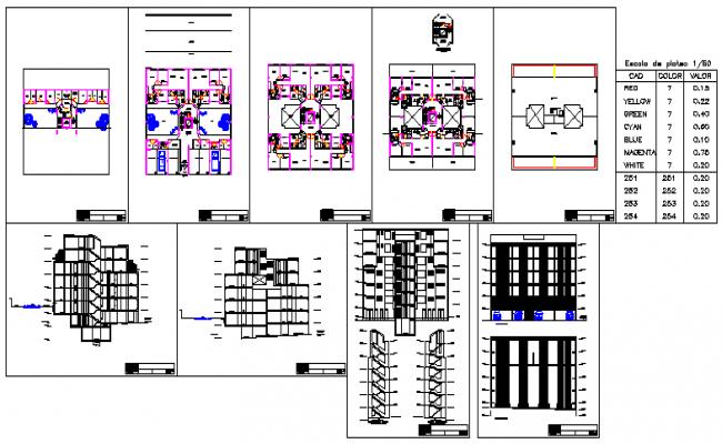 Single storey residential building design