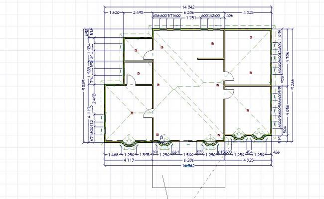 Single story floor plan 2