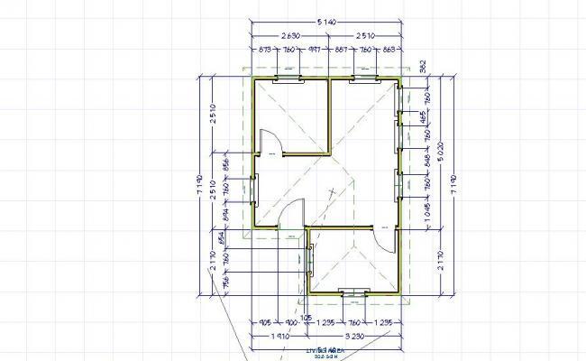 Single story floor plan