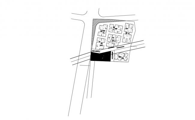 Site Area Master Plan Download free CAD Drawing