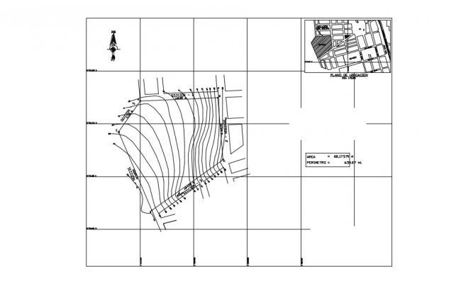 Site Plan In DWG File