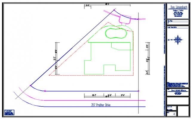 Site Plan Lay-out Design