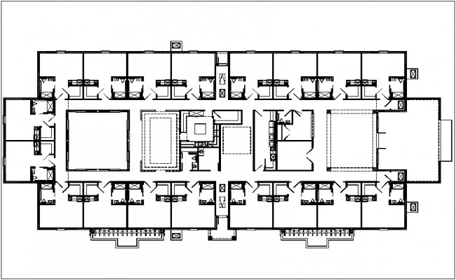 Site map plan dwg file