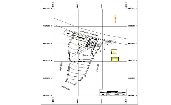 Site plan detail