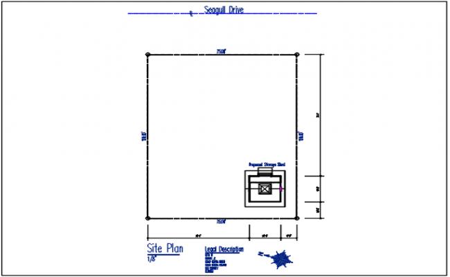 Site plan detail in plot area in dimension detail with naming detail – Site Plot Plan