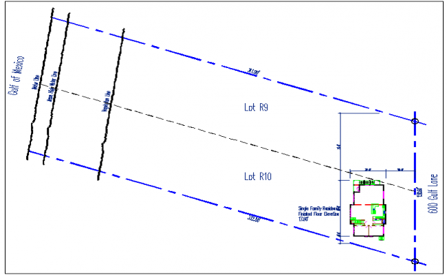 Site plan structure layout details dwg file