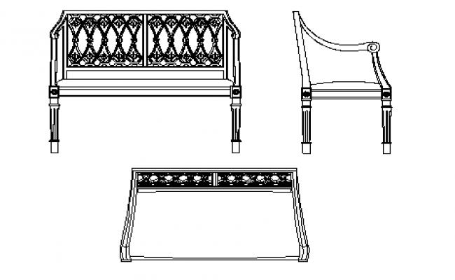 Sitting sofa type table design