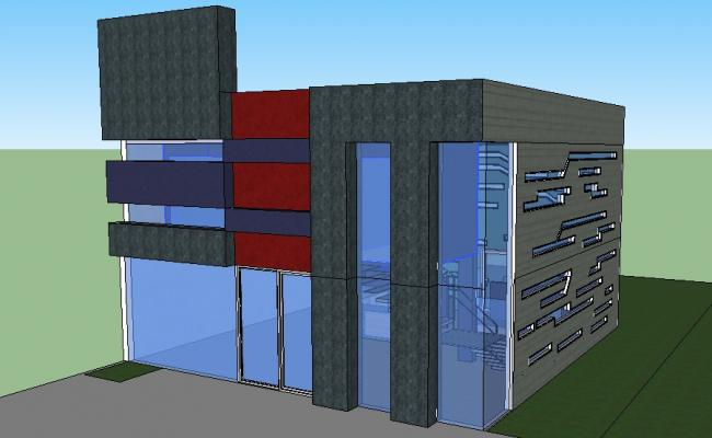 SketchUp file of residential house