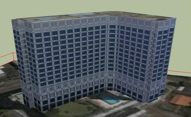 Sketchup file of building
