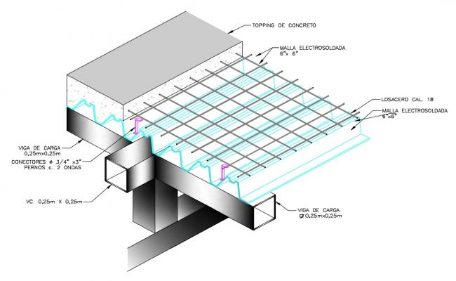 Slab Construction In AutoCAD File