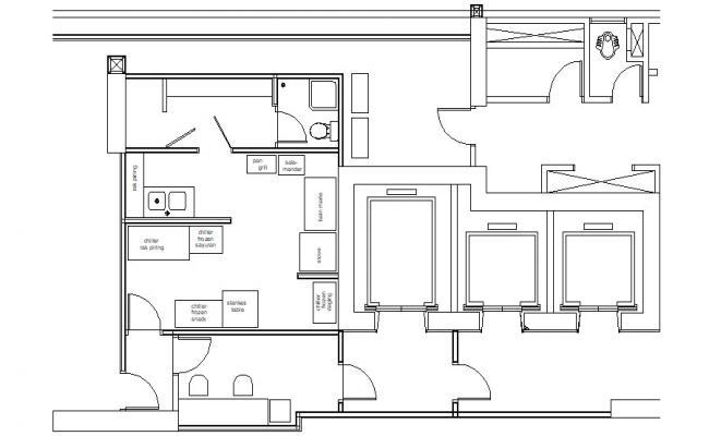 Small Restaurant Kitchen Plan