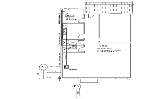 Small house Design Plan Download AutoCAD drawing