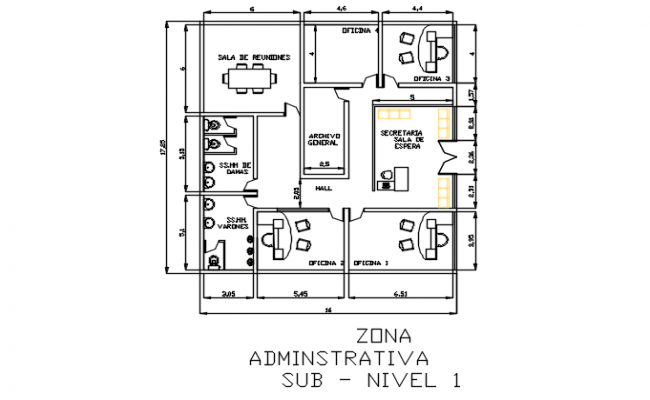 small office building plans. f
