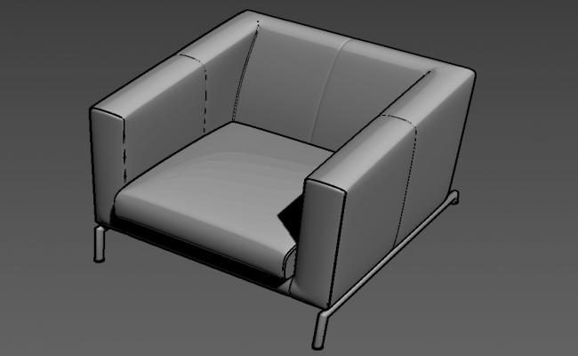 Sofa 3D MAX File Free Download