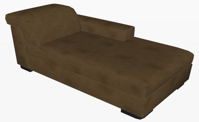 Sofa 3d view skp file