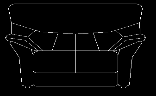 Sofa chair 1