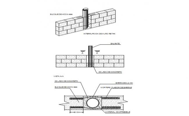 Solution of pluvial or sanitary slopes