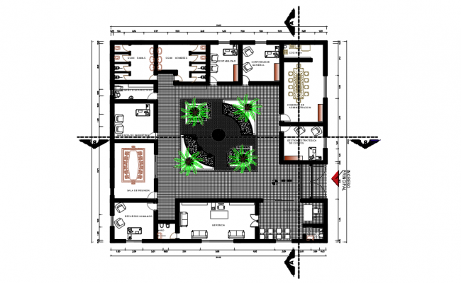 Spa Project Management dwg file