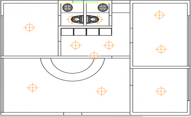 Space allocation for living room