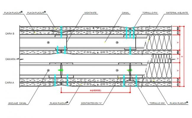 Special block separation housings and maintenance