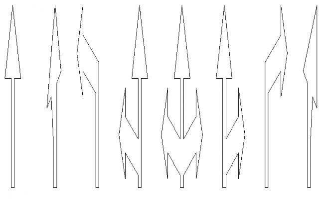 Spire horizontal signaling design drawing