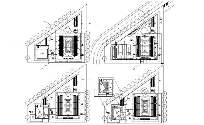 Sport Building Center Design Architecture Plan