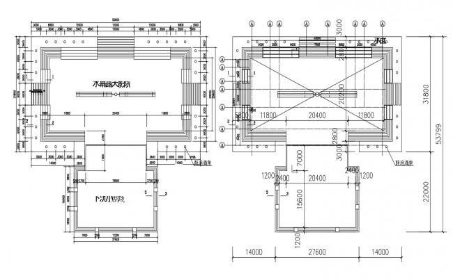 Stage Design Plan AutoCad Drawing Free Download