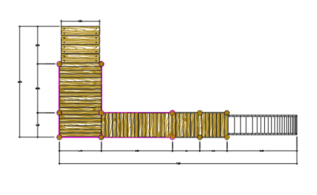 Stair Way Design AutoCAD File
