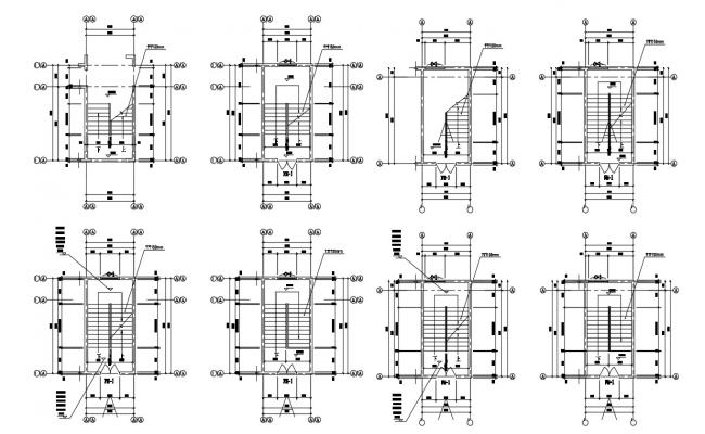 Staircase Plan AutoCAD File Download