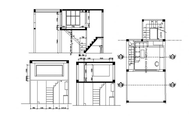 Download Free Staircase design in AutoCAD file