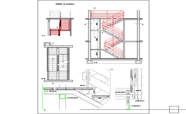 Stairways detail