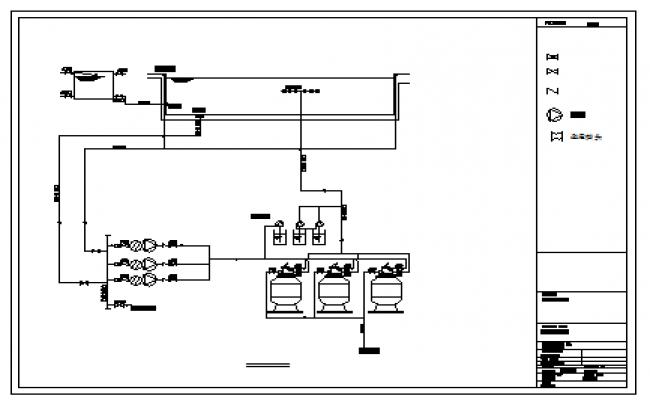 Standard swimming pool detail design drawing for Swimming pool overflow detail dwg