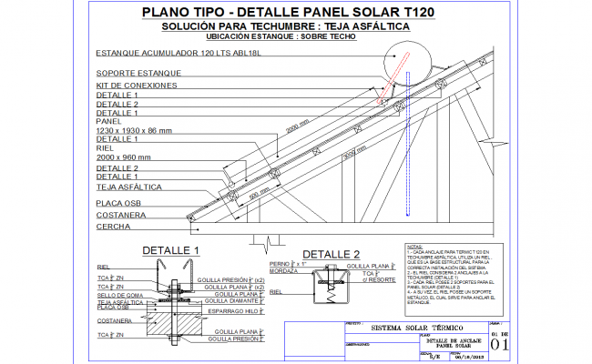 Standing Seam Roof Details Cad File