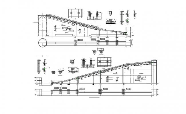 Steel Beam To Column Connection Design AutoCAD File