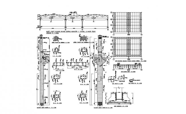 Steel Construction Details DWG File Download