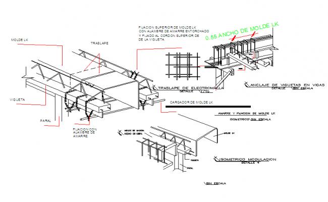 Steel Frame Structure detail