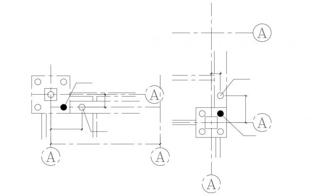 Steel Joint Free DWG File