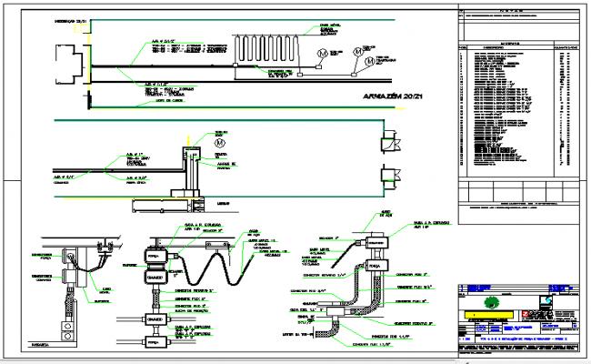 Steel electrical junction details