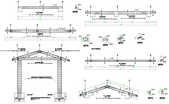 Steel framing plan structural file